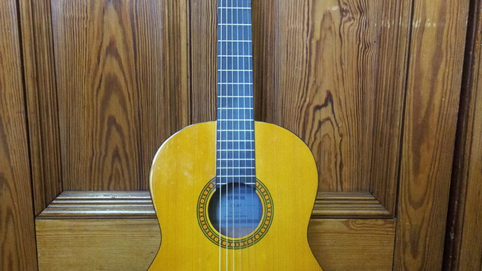 James R's guitar